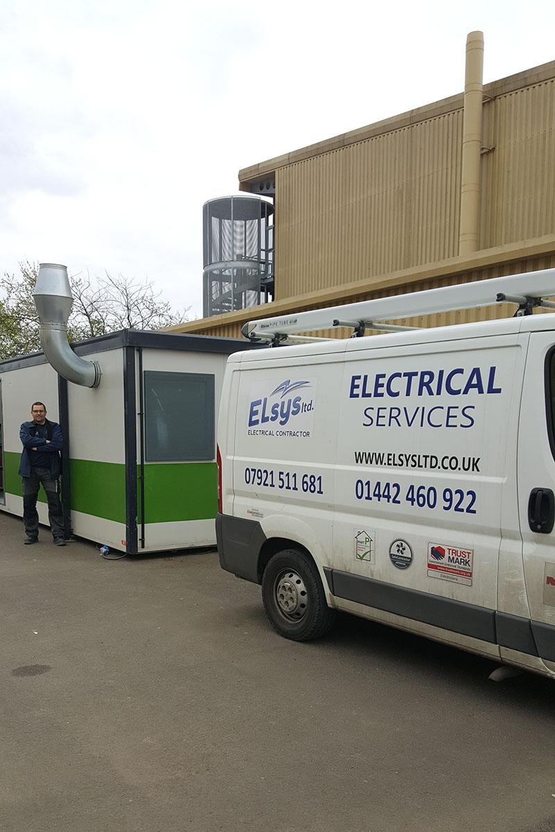 Electrical Project Warner Bros Elsys Ltd