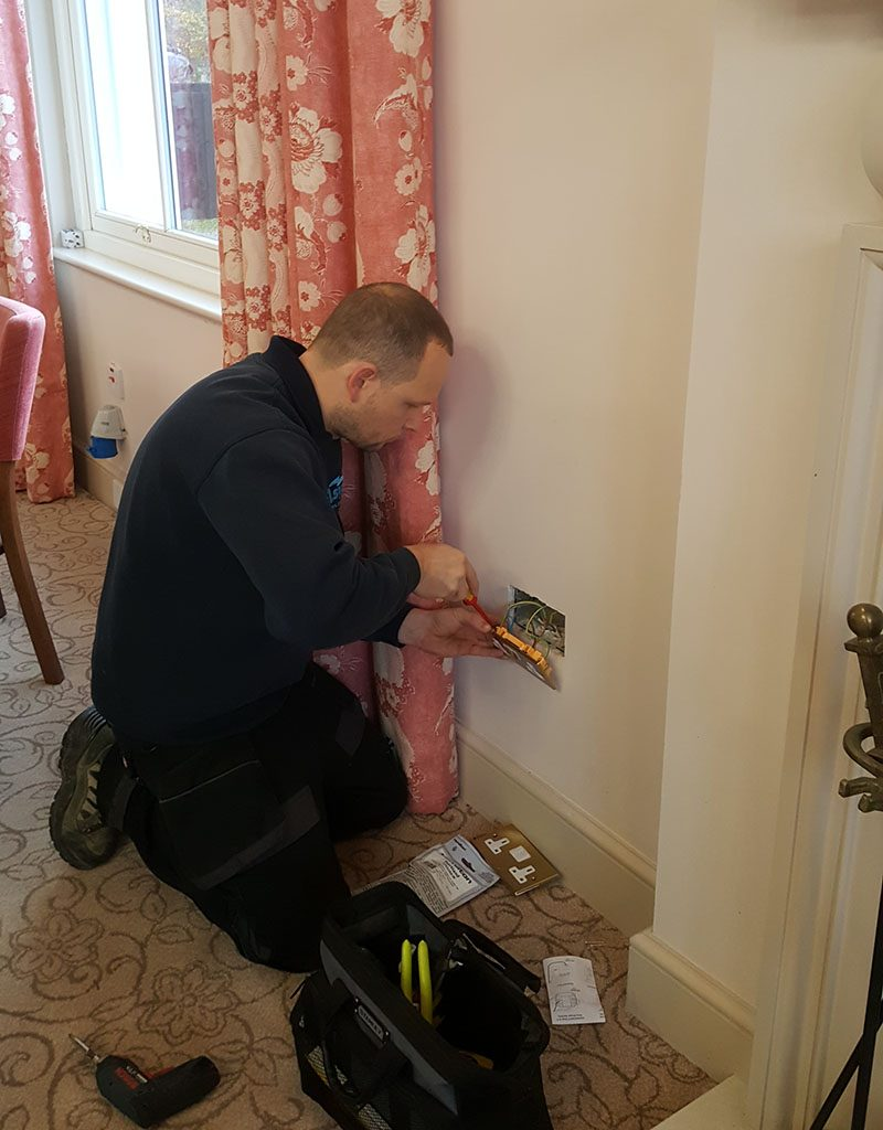 Electrician Tring HP23 Electrical Project Stocks Golf Club