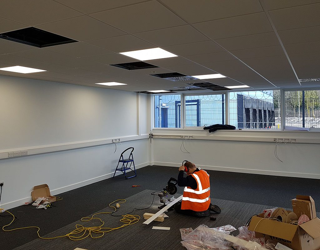 Electrical Project Victoria Carpets
