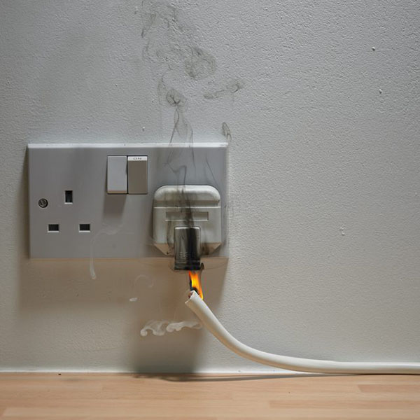 Burning Smell From An Outlet