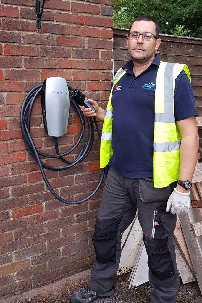 Tesla Charger - Electrician