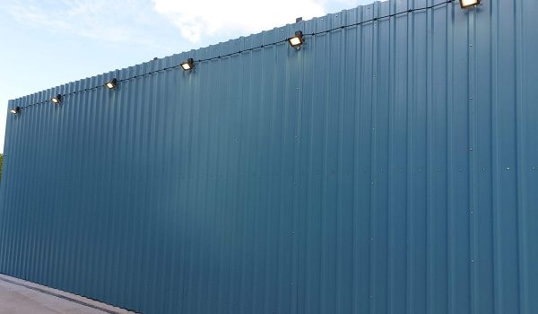 Jet Wash Area - Lights Installation