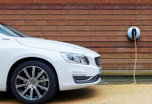 Electric Car Charging Point at Home