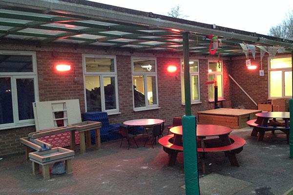 Garden Lighting & Heating