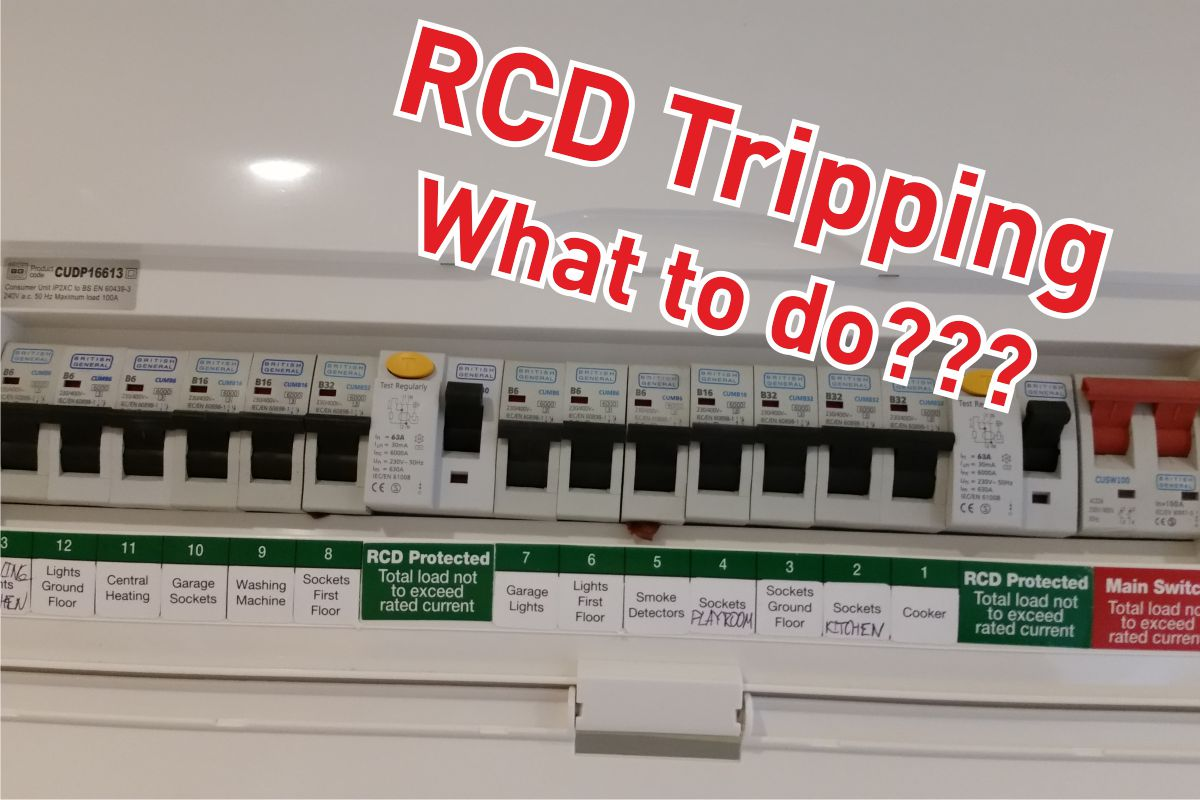 RCD Tripping – Causes And Solutions
