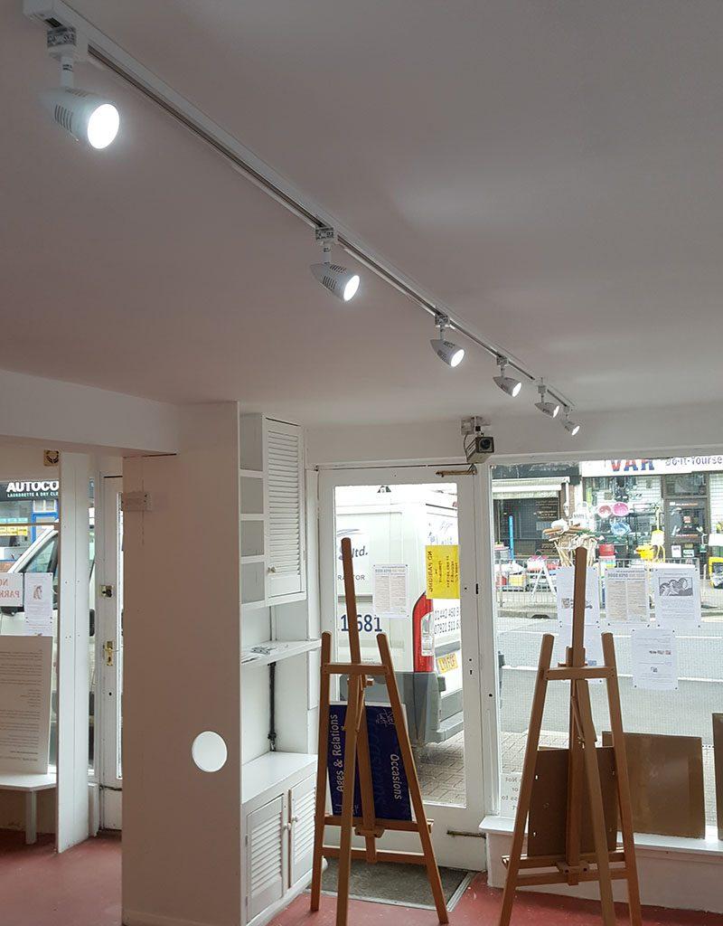 Way Inn Ltd – Ceiling Lights Installation