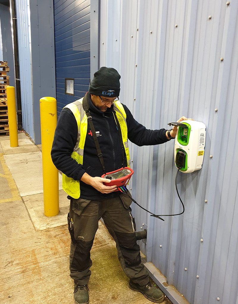 Rolec EV Charging Point Installation