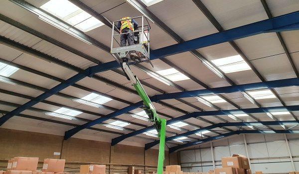 Deyongs Ltd - Warehouse Lights